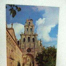 Postales: POSTAL BURGOS - MONASTERIO DE SANTA MARIA PP AGUSTINOS - LA VID - IGLESIA FACHADA PRINCIPAL - 1967. Lote 40055902