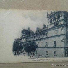 Postales: POSTAL ANTIGUA SALAMANCA. PALACIO DE MONTERREY. DORSO SIN DIVIDIR. . Lote 40062091