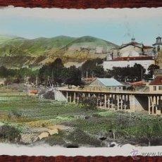 Postales: FOTO POSTAL. VILLAFRANCA DEL BIERZO (LEON). LA COLEGIATA. EDICIONES ARRIBAS Nº 2, CIRCULADA. Lote 134236641