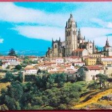 Postales: SEGOVIA - CATEDRAL Y MURALLAS. Lote 40170140