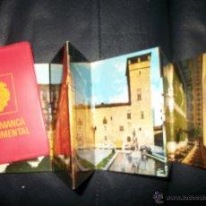 Postales: LIBRILLO POSTALES SALAMANCA MONUMENTAL – 22 FOTOS – ANTIGUO. Lote 40185194