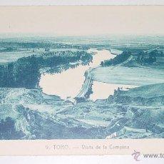 Postales: ANTIGUA POSTAL DE TORO - ZAMORA - VISTA DE LA CAMPIÑA - NO CIRCULADA .. Lote 39521969