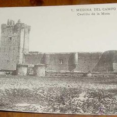 Postales: ANTIGUA POSTAL DE MEDINA DEL CAMPO - CASTILLO DE LA MOTA - NO CIRULADA.. Lote 39523130