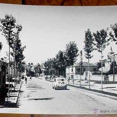 Postales: ANTIGUA FOTO POSTAL DE EL ESPINAR (SEGOVIA) AVENIDA DEL GENERAL MOLA - VISTABELLA - ESCRITA. Lote 39543921