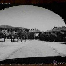 Postales: ANTIGUA FOTO POSTAL DE VILLADA (PALENCIA) PLAZA MAYOR - GRECOR - CIRCULADA. Lote 39546721