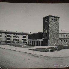 Postales: ANTIGUA FOTO POSTAL DE GUARDO (PALENCIA) - AYUNTAMIENTO - ED. SICILIA, CIRCULADA. Lote 39547773