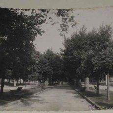 Postales: ANTIGUA FOTO POSTAL DE SORIA - ALAMEDA DE CERVANTES - NO CIRCULADA - ED. GARCIA GARRABELLA.. Lote 39548812
