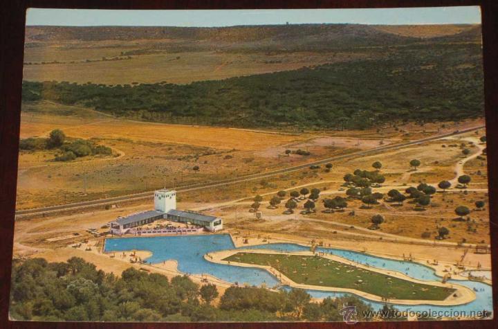 Antigua foto postal de coto de puenteviejo av comprar for Piscinas naturales castilla y leon