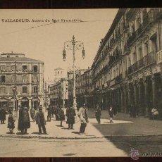 Postales: ANTIGUA POSTAL DE VALLADOLID - ACERA DE SAN FRANCISCO - L. J. - HAUSER Y MENET - SIN CIRCULAR -. Lote 39550795