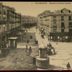 Postales: ANTIGUA POSTAL DE VALLADOLID - PLAZUELA DE FUENTE DORADA - 5 POSTALES MONTERO - SIN CIRCULAR. Lote 39587627