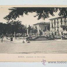 Postales: ANTIGUA POSTAL DE SORIA - ALAMEDA DE CERVANTES - ED. M. ARRIBAS - NO CIRCULADA.. Lote 39588299