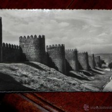 Postales: ANTIGUA FOTO POSTAL - AVILA - MURALLAS - HELIOTIPIA ARTISTICA ESPAÑOLA - 5 - SIN CIRCULAR. Lote 39605655