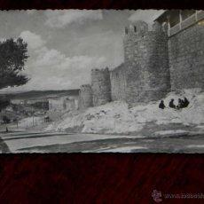 Postales: ANTIGUA FOTO POSTAL - AVILA - MURALLAS - HELIOTIPIA ARTISTICA ESPAÑOLA - 15 - SIN CIRCULAR. Lote 39605656