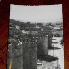 Postales: ANTIGUA FOTO POSTAL - AVILA - MURALLAS - HELIOTIPIA ARTISTICA ESPAÑOLA - 16 - SIN CIRCULAR. Lote 39605657