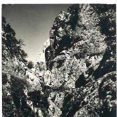 Postales: LEON PICOS DE EUROPA VALLE DE VALDEON PUENTE DE BOLIN. ED. SICILIA . ESCRITA. Lote 40280581