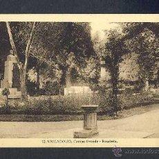 Postales: POSTAL DE VALLADOLID: CAMPO GRANDE, ROSALEDA (NUM. 12). Lote 40286029