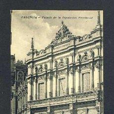 Postales: POSTAL DE PALENCIA: PALACIO DE LA DIPUTACION PROVINCIAL (FOTO ALONSO). Lote 40286439