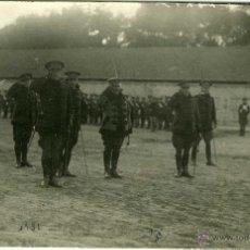 Postales: POSTAL FOTOGRAFICA VALLADOLID MILITARES 1931 CUARTEL DE SAN BENITO. Lote 40291797