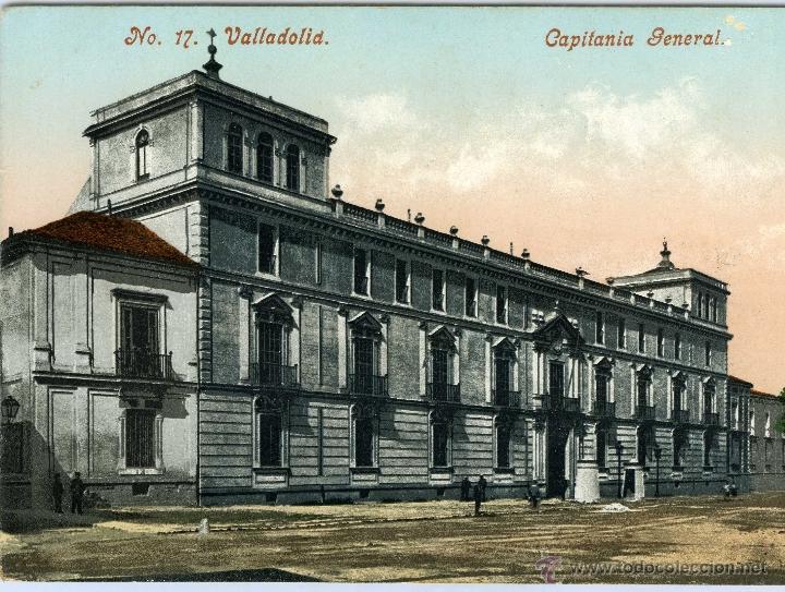 POSTAL VALLADOLID CAPITANIA GENERAL (Postales - España - Castilla y León Antigua (hasta 1939))