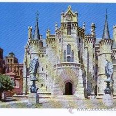 Postales: ASTORGA - PALACIO EPISCOPAL.. Lote 40414232