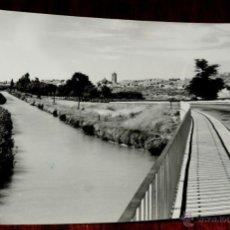 Postales: ANTIGUA FOTO POSTAL DE DUEÑAS - PALENCIA - N. 2 - PANORAMICA - ED. SICILIA - NO CIRCULADA - ESCRITA.. Lote 40590164