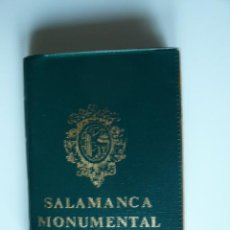 Postales: TIRA DE POSTALES SALAMANCA MONUMENTAL COLOR, 20 IMÁGENES. Lote 40763635