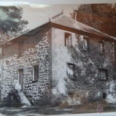 Postales: POSTAL DE SAN RAFAEL. SEGOVIA. RESIDENCIA DEL BANCO ESPAÑOL. PABELLON DORMITORIOS. AÑOS 60. CIRCULAD. Lote 40775865