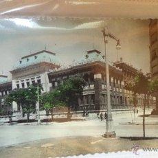 Postales: POSTAL DE PALENCIA. INSTITUTO JORGE MANRIQUE. AÑOS 60. CIRCULADA. Lote 40775938