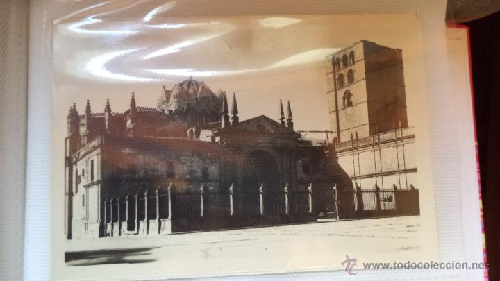 POSTAL DE ZAMORA. LA CATEDRAL. AÑOS 50 (Postales - España - Castilla y León Moderna (desde 1940))