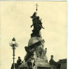 Postales: POSTAL VALLADOLID MONUMENTO CRISTOBAL COLON. Lote 40954188