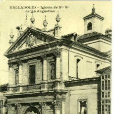 Postales: POSTAL VALLADOLID IGLESIA DE LAS ANGUSTIAS. Lote 40954256