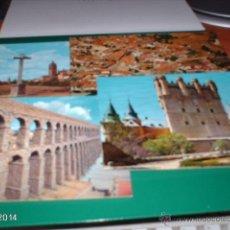 Postales: LOTE DE 5 POSTALES DE SEGOVIA. AÑOS 80 Y 90. EL ESPINAR, ALCÁZAR, ACUEDUCTO. Lote 40977297