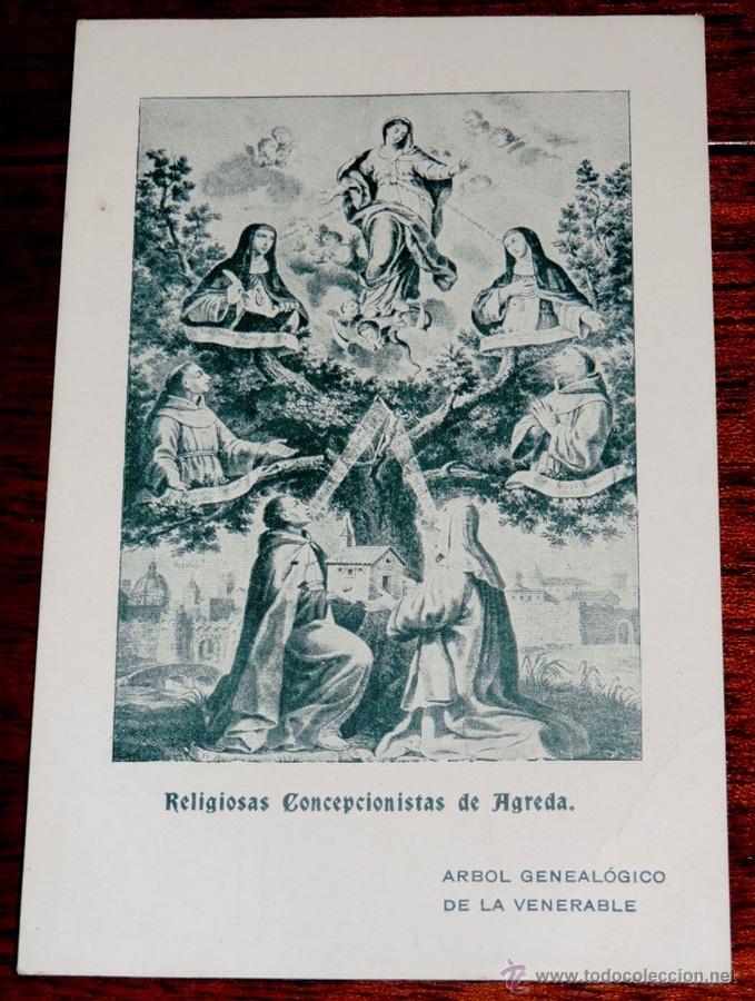 Agreda Soria Arbol Genealogico De La Venerab Comprar Postales