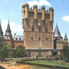 Postales: SEGOVIA - EL ALCÁZAR. Lote 41088903