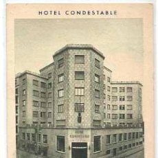 Cartoline: BURGOS HOTEL CONDESTABLE. ED. F.MESAS. CIRCULADA. Lote 41142865