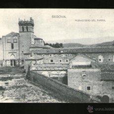 Postales: SEGOVIA MONASTERIO DEL PARRAL - EDICIÓN HAUSER Y MENET - POSTAL - POSTAL . Lote 41197813