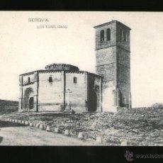 Postales: SEGOVIA LOS TEMPLARIOS - EDICIÓN HAUSER Y MENET - POSTAL - POSTAL . Lote 41197822