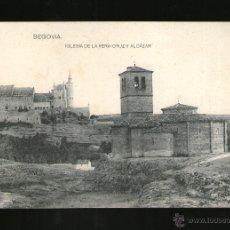 Postales: SEGOVIA IGLESIA DE LA VERA CRUZ Y ALCAZAR - EDICIÓN HAUSER Y MENET - POSTAL - POSTAL . Lote 41197856