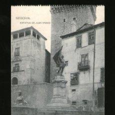 Postales: SEGOVIA ESTATUA DE JUAN BRAVO - EDICIÓN HAUSER Y MENET - POSTAL - POSTAL . Lote 41197895