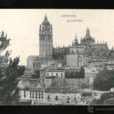 Postales: SEGOVIA LA CATEDRAL - EDICIÓN HAUSER Y MENET - POSTAL - POSTAL . Lote 41197922