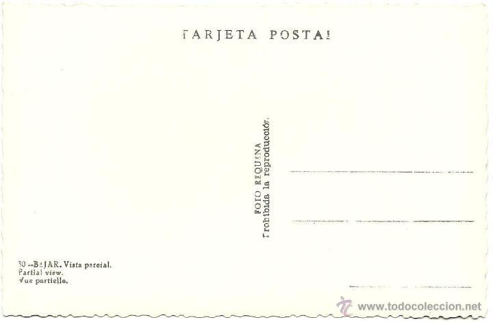 Postales: POSTAL BEJAR ( SALAMANCA ) - Foto 2 - 41213262