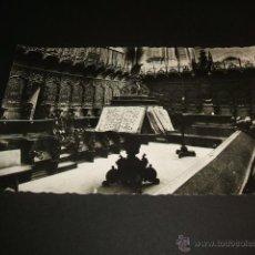 Postales: CIUDAD RODRIGO SALAMANCA CATEDRAL CORO. Lote 41283257