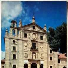 Postales: AVILA. FACHADA PRINCIPAL DEL CONVENTO DE SANTA TERESA.. Lote 41326404