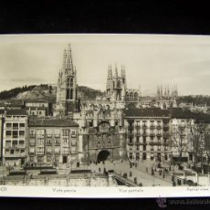Postales: POSTAL FOTOGRÁFICA SIN CIRCULAR BURGOS ED MANIPOL RTRO Nº 142200. Lote 41381567