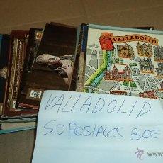Postales: 52 POSTALES DE VALLADOLID. AÑOS 80. 2-3 CIRCULADAS. Lote 41386477