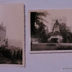 Postales: 2 FOTOGRAFIAS DEL ALCAZAR DE SEGOVIA - MIDEN 9,5 X 7 CMS.. Lote 41404725