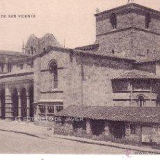 Postales: AVILA - BASILICA DE SAN VICENTE. Lote 41404780