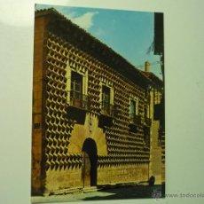 Postales: POSTAL SEGOVIA .- CASA DE LOS PICOS. Lote 41462191