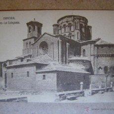 Postales: ANTIGUA POSTAL - ZAMORA - TORO - LA COLEGIATA - COLECCIÓN LIBRERIA RELIGIOSA JACINTO GONZÁLEZ -NUEVA. Lote 41726518
