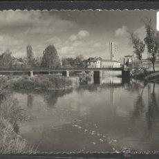 Postales: BENAVENTE - 12 - PUENTE DE HIERRO - ED·ARRIBAS - (19627). Lote 41786218